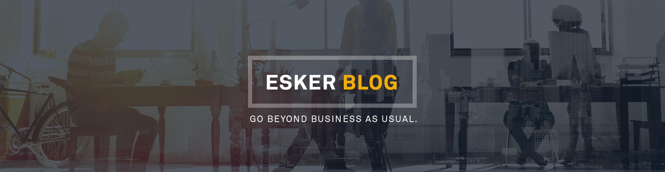 Blog Esker Asia