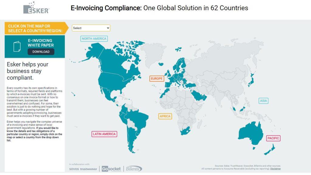 E-invoice compliance